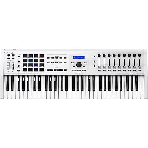 Arturia KeyLab 61 MKII Keyboard Controller White Condition 1 - Mint