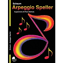 SCHAUM Keynote Arpeggio Speller Educational Piano Series Softcover