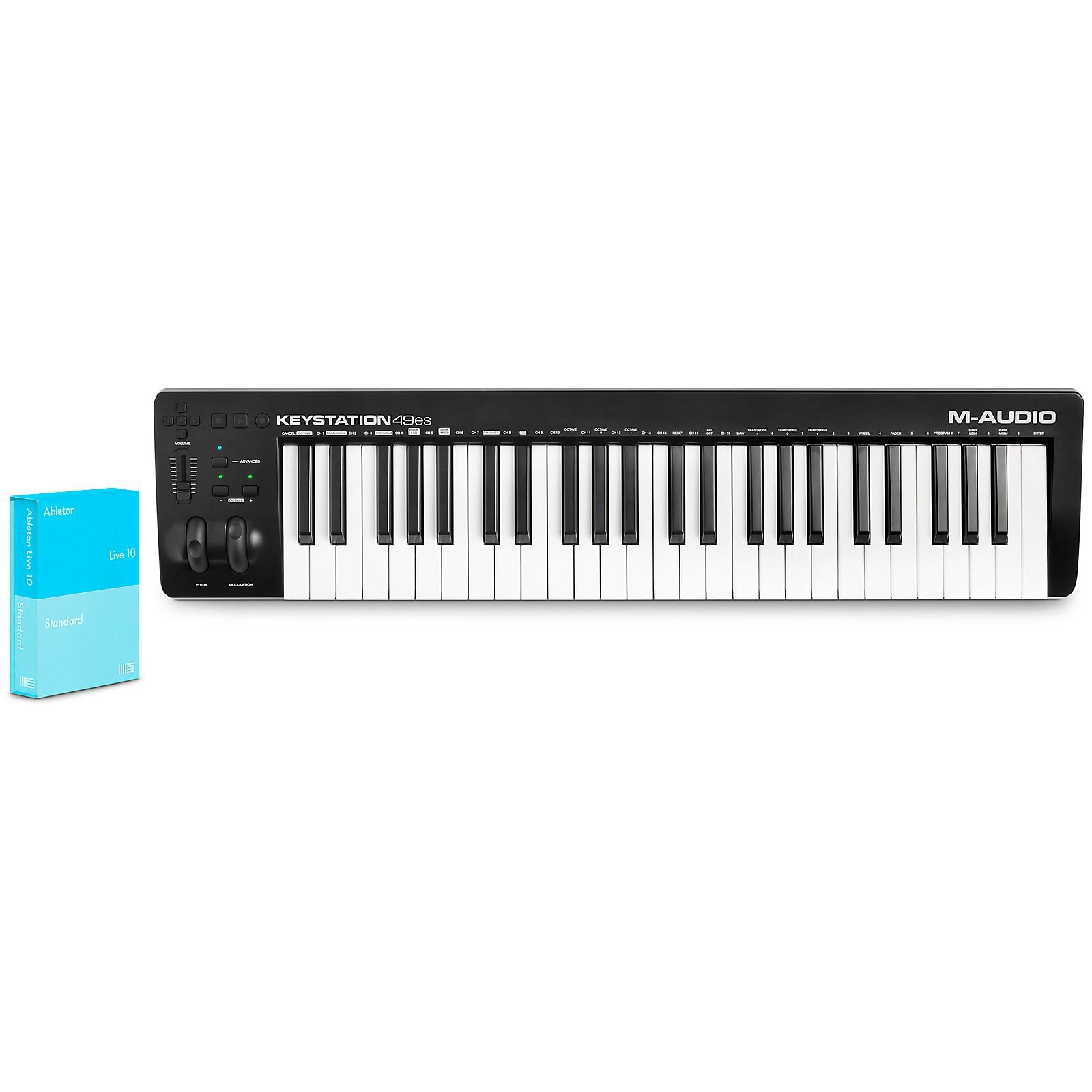 M-Audio Keystation 49es MK3 with Ableton Live 10 Standard Upgrade From Live Lite
