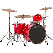 Keystone X 3-Piece Pro Beat Shell Pack with 24 in. Bass Drum Orange Glitter