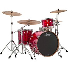 Keystone X 3-Piece Pro Beat Shell Pack with 24 in. Bass Drum Red Swirl