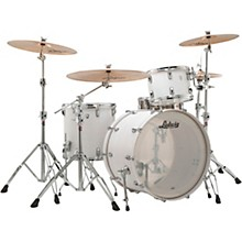 Keystone X 3-Piece Pro Beat Shell Pack with 24 in. Bass Drum Snow White
