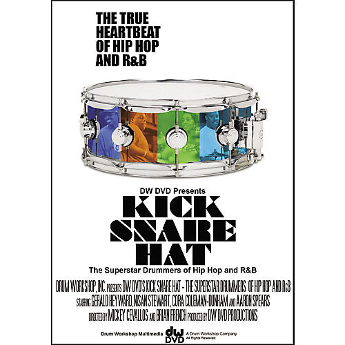 The Drum Channel Kick Snare Hat: The Superstars of Hip-Hop and R&B - 2-DVD Set