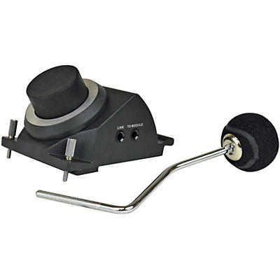 KAT Percussion Kick Trigger Pad with Angled Beater