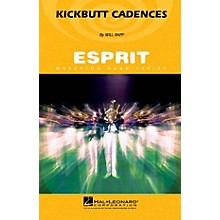 Hal Leonard Kickbutt Cadences Marching Band Level 3 Composed by Will Rapp