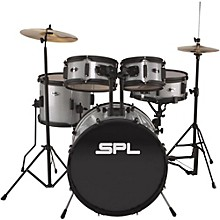 Sound Percussion Labs Kicker Pro  5-Piece Drum Set with Stands, Cymbals and Throne