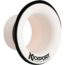 Kickport Bass Drum Sound Enhancer White