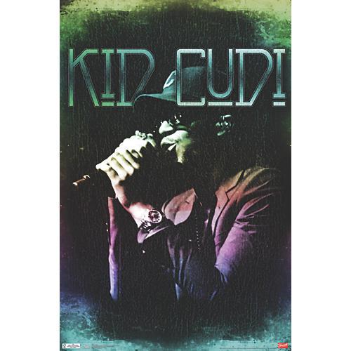 Trends International Kid Cudi - Colors Poster Premium Unframed