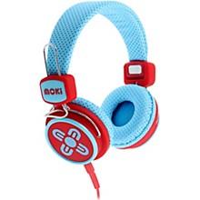 Kid Safe Volume Limited Headphones Blue/Red