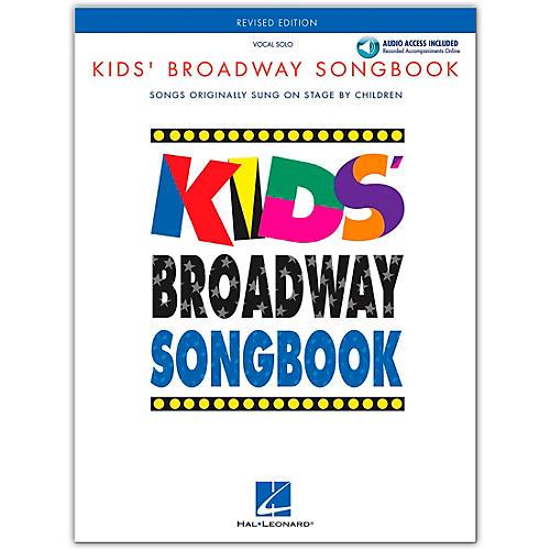 Hal Leonard Kids' Broadway Songbook (Book/Online Audio)