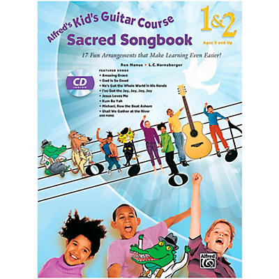 Alfred Kid's Guitar Course Sacred Songbook 1 & 2 (Book/ CD)
