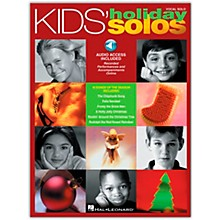 Hal Leonard Kids' Holiday Solos (Book/Online Audio)
