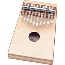 Stagg Kid's Kalimba 10 Keys with Note Names Printed on Keys - Natural