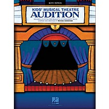 Hal Leonard Kid's Musical Theatre Audition - Boys Edition Book/CD