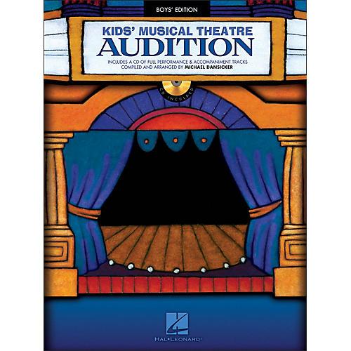 Hal Leonard Kid's Musical Theatre Audition - Boys Edition Book/CD