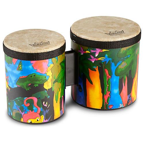 Remo Kid's Percussion Rain Forest Bongos
