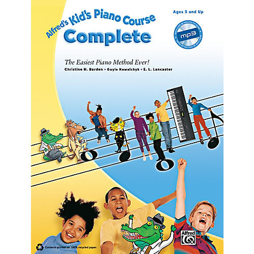 Alfred Kid's Piano Course Complete Book & CD