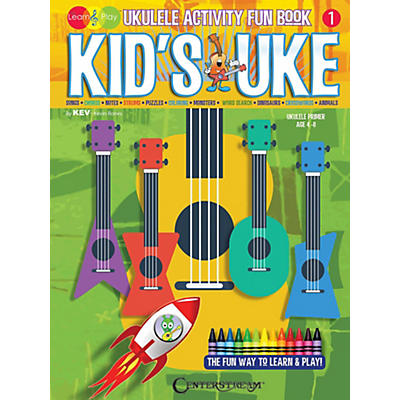 Centerstream Publishing Kid's Uke - Ukulele Activity Fun Book