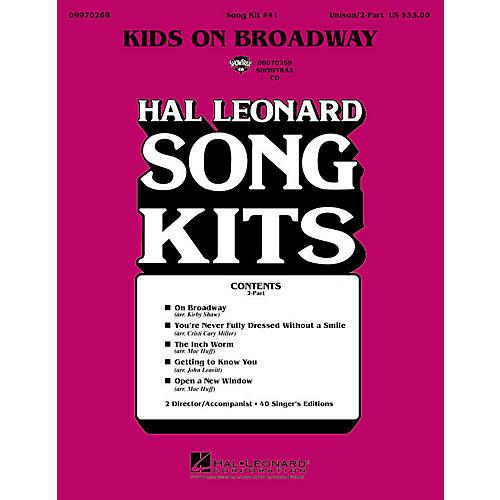 Hal Leonard Kids on Broadway (Song Kit #41) (ShowTrax CD) ShowTrax CD Arranged by John Leavitt