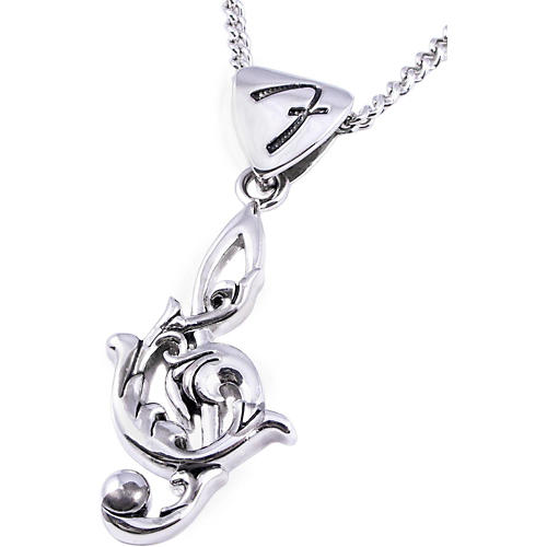 Fender King Baby Clef Necklace