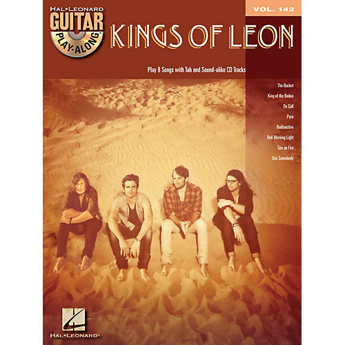 Hal Leonard Kings Of Leon - Guitar Play-Along, Volume 142 (Book/CD)