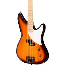 Kingston CRB 4-String Maple Fingerboard Electric Bass Guitar Tobacco Sunburst Rosewood Fingerboard