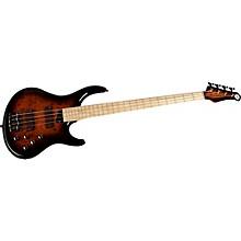 Kingston KZ Electric Bass Guitar Tobacco Sunburst Maple
