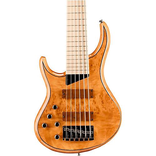 MTD Kingston Z6 6-String Left-Handed Maple Fingerboard Electric Bass Natural