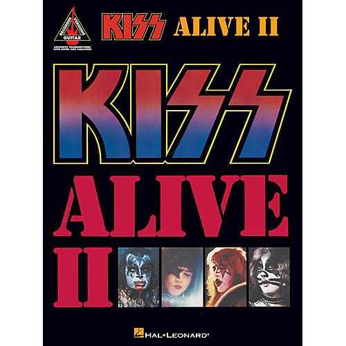 Hal Leonard Kiss - Alive II Guitar Tab Songbook