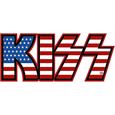 C&D Visionary Kiss American Flag Patch