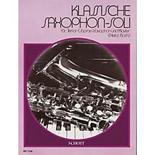 Schott Klassische Saxophone-soli (German Text) Schott Series