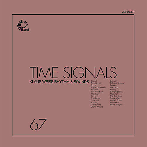 Alliance Klaus Weiss - Time Signals