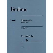 G. Henle Verlag Klavierstücke, Op. 118 [Piano Pieces] Henle Music Folios Series Softcover