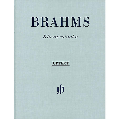 G. Henle Verlag Klavierstücke (Revised Edition - Hardcover) Henle Music Folios Series Hardcover