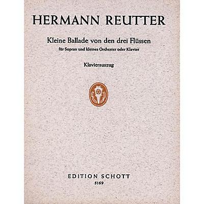 Schott Kleine Ballade Arr High Voice/pf Schott Series
