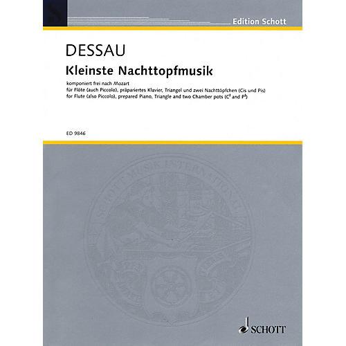 Schott Kleinste Nachttopfmusik (Score and Parts) Schott Series Composed by Paul Dessau