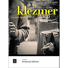 Carl Fischer Klezmer Duets for Clarinet and Accordion