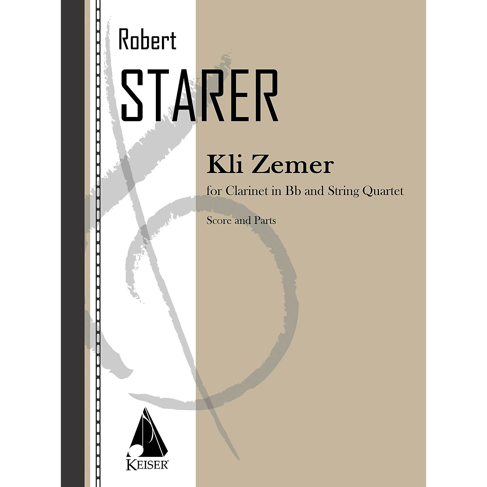 Lauren Keiser Music Publishing Kli Zemer (Concerto for Clarinet) LKM Music Series