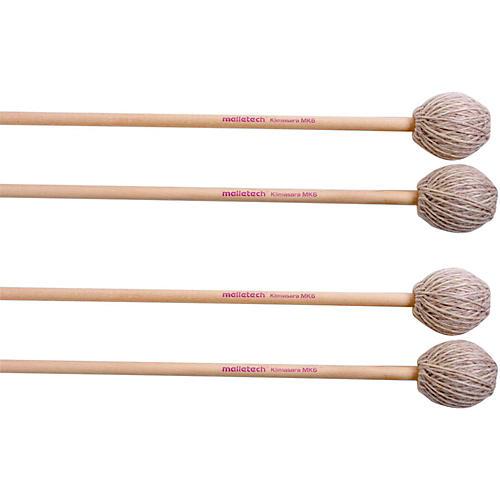 Malletech Klimasara Marimba Mallets Set of 4 (2 Matched Pairs)