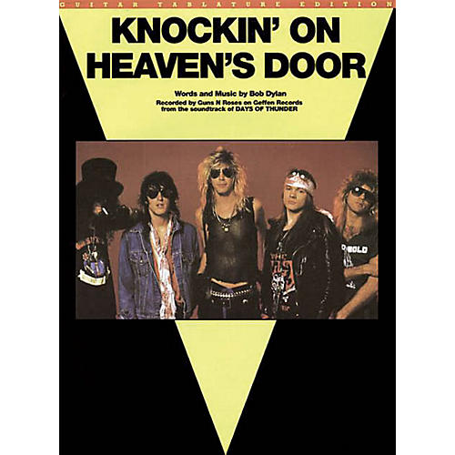 Music Sales Knockin' On Heaven's Door Music Sales America Series Performed by Guns N' Roses