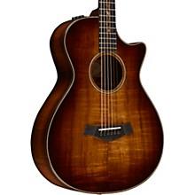Taylor Koa Series K22ce 12-Fret Grand Concert Acoustic-Electric Guitar