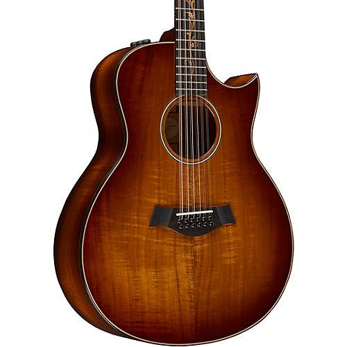 Taylor Koa Series K66ce 12-String Grand Symphony Acoustic-Electric Guitar