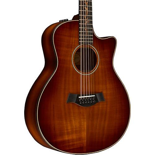 taylor koa series k66ce grand symphony 12 string acoustic electric guitar musician 39 s friend. Black Bedroom Furniture Sets. Home Design Ideas