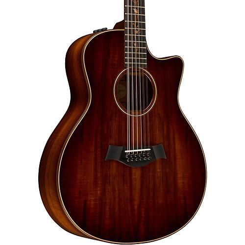 Taylor Koa Series K66ce Grand Symphony Acoustic-Electric 12-String Guitar