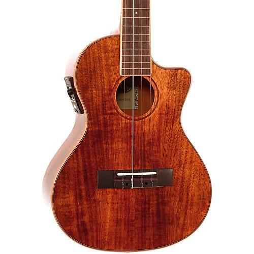 kala koa tenor cutaway gloss acoustic electric ukulele musician 39 s friend. Black Bedroom Furniture Sets. Home Design Ideas