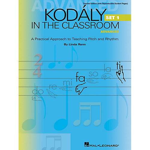Hal Leonard Kodaly in the Classroom - Advanced Set 1 ShowTrax CD Composed by Linda Rann