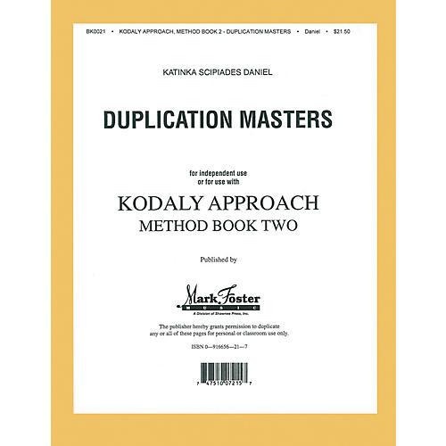 Shawnee Press Kodály Approach (Method Book Two - Transparencies)