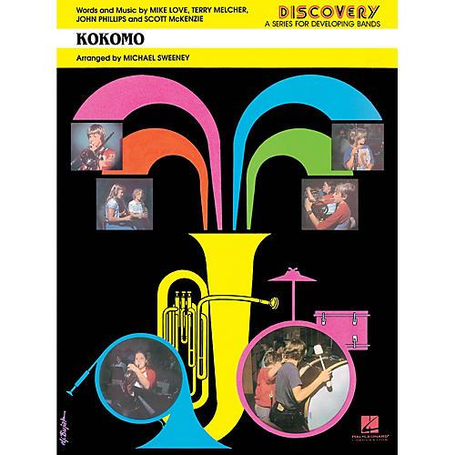 Hal Leonard Kokomo Concert Band Level 1.5 by Beach Boys Arranged by Jerry Nowak
