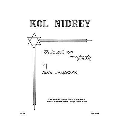 Transcontinental Music Kol Nidrey SATB arranged by Samuel Adler