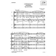 Editio Musica Budapest Kolinda TB Composed by János Vajda